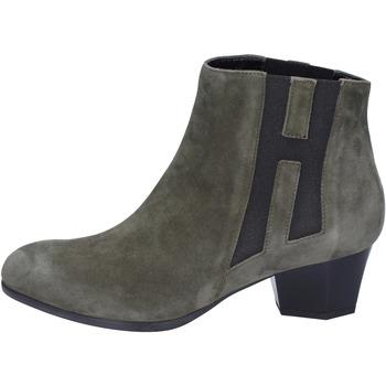 kengät Naiset Nilkkurit Hogan Stivaletti Camoscio Verde