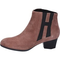 kengät Naiset Nilkkurit Hogan BK699 Ruskea
