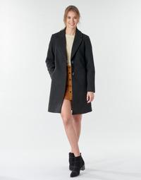 vaatteet Naiset Paksu takki Only ONLNATALIA Black