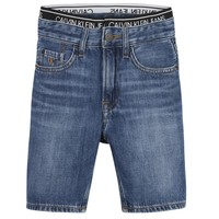 vaatteet Pojat Shortsit / Bermuda-shortsit Calvin Klein Jeans AUTHENTIC LIGHT WEIGHT Sininen