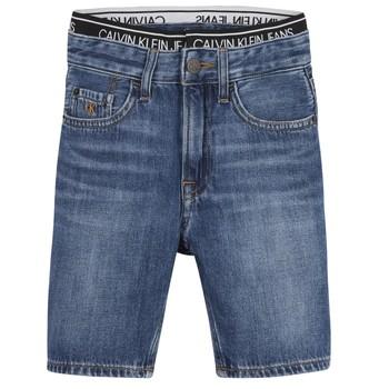 vaatteet Pojat Shortsit / Bermuda-shortsit Calvin Klein Jeans AUTHENTIC LIGHT WEIGHT Sininen
