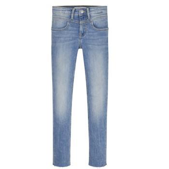 vaatteet Tytöt Skinny-farkut Calvin Klein Jeans IG0IG00971-1AA Sininen