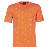 vaatteet Miehet Lyhythihainen t-paita Scotch & Soda 160854 Punainen