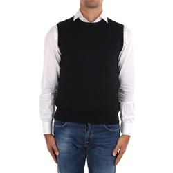 vaatteet Miehet Neuleet / Villatakit La Fileria 14290 55168 Black