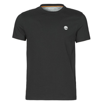 vaatteet Miehet Lyhythihainen t-paita Timberland SS DUNSTAN RIVER POCKET TEE SLIM Musta