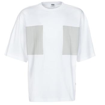 vaatteet Miehet Lyhythihainen t-paita Urban Classics TB4126 Valkoinen