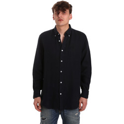 vaatteet Miehet Pitkähihainen paitapusero Navigare NV91108 Sininen