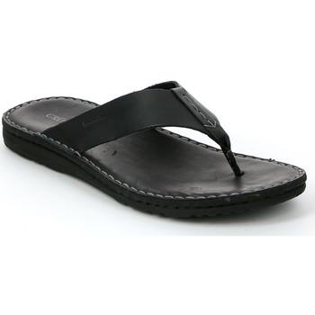 kengät Miehet Varvassandaalit Grunland CI1153 Musta