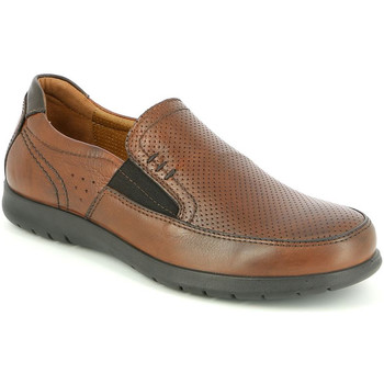 kengät Miehet Mokkasiinit Grunland SC4449 Ruskea