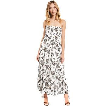 vaatteet Naiset Pitkä mekko Gaudi 011FD15004 Valkoinen