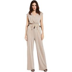 vaatteet Naiset Jumpsuits / Haalarit Gaudi 011FD24001 Beige