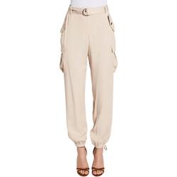 vaatteet Naiset Reisitaskuhousut Gaudi 011FD25018 Beige