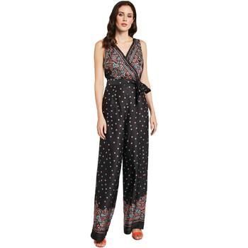 vaatteet Naiset Jumpsuits / Haalarit Gaudi 011FD25027 Musta