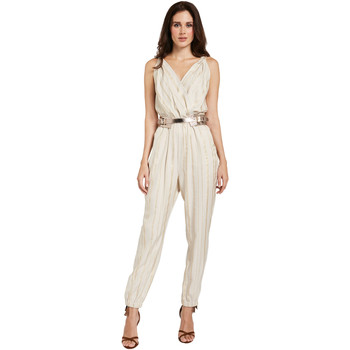 vaatteet Naiset Jumpsuits / Haalarit Gaudi 011FD25028 Beige