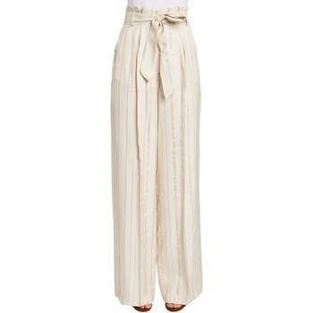 vaatteet Naiset Väljät housut / Haaremihousut Gaudi 011FD25029 Beige