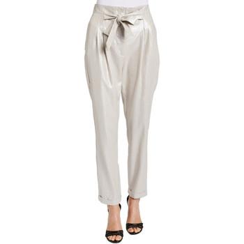 vaatteet Naiset Housut Gaudi 011FD25031 Harmaa