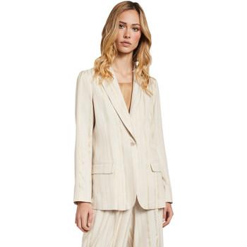 vaatteet Naiset Takit / Bleiserit Gaudi 011FD35011 Beige