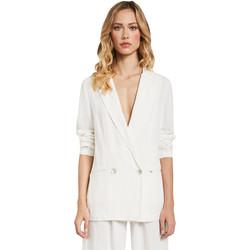 vaatteet Naiset Takit / Bleiserit Gaudi 011FD35012 Valkoinen