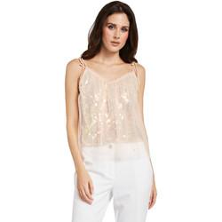 vaatteet Naiset Topit / Puserot Gaudi 011FD45036 Vaaleanpunainen