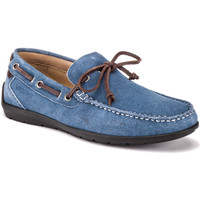 kengät Miehet Mokkasiinit Lumberjack SM40602 002 A01 Sininen