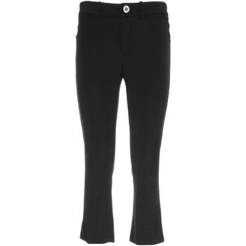 vaatteet Naiset Caprihousut Nero Giardini P960610D Musta