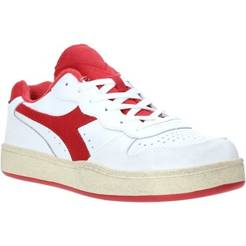 kengät Miehet Matalavartiset tennarit Diadora 501175757 Punainen