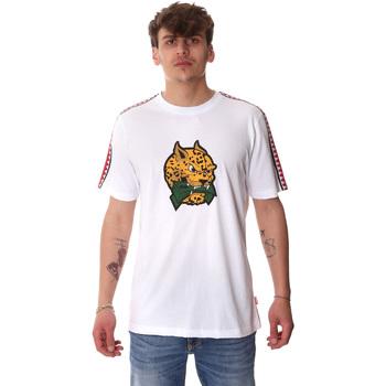 vaatteet Miehet Lyhythihainen t-paita Sprayground 20SP032WHT Valkoinen