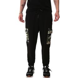 vaatteet Miehet Reisitaskuhousut Sprayground 20SP017 Musta