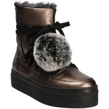 kengät Naiset Talvisaappaat Mally 5991 Harmaa