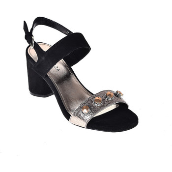 kengät Naiset Sandaalit ja avokkaat Apepazza PRS04 Musta