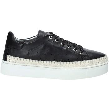 kengät Naiset Matalavartiset tennarit The Flexx D1029_04 Musta