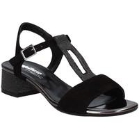 kengät Naiset Sandaalit ja avokkaat Melluso K35106 Musta