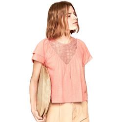 vaatteet Naiset Topit / Puserot Pepe jeans PL303306 Vaaleanpunainen