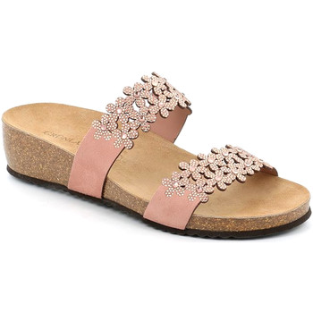 kengät Naiset Sandaalit Grunland CB2478 Vaaleanpunainen