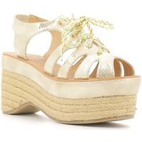 kengät Naiset Sandaalit ja avokkaat Police 883 V70 Kulta