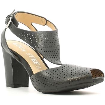 kengät Naiset Sandaalit ja avokkaat Luca Stefani 230104 Musta