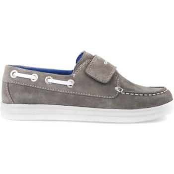 kengät Lapset Mokkasiinit Geox J723HF 022BC Harmaa