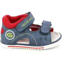 kengät Lapset Sandaalit ja avokkaat Grunland PS0017 Sininen
