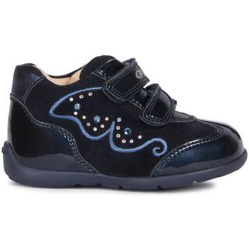 kengät Lapset Matalavartiset tennarit Geox B9451A 022HI Sininen