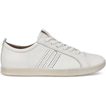 kengät Miehet Matalavartiset tennarit Ecco 53620401007 Valkoinen