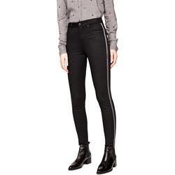 vaatteet Naiset Slim-farkut Pepe jeans PL2031380 Musta