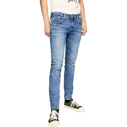 vaatteet Miehet Slim-farkut Pepe jeans PM200823WF92 Sininen