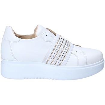 kengät Naiset Matalavartiset tennarit Exton E05 Valkoinen