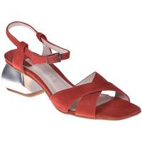 kengät Naiset Sandaalit ja avokkaat Café Noir ME571 Punainen