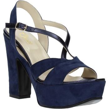 kengät Naiset Sandaalit ja avokkaat Grace Shoes TQ 126 Sininen