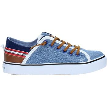 kengät Lapset Matalavartiset tennarit U.s. Golf S19-SUK407 Sininen