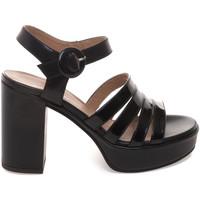 kengät Naiset Sandaalit ja avokkaat Janet Sport 43875 Musta