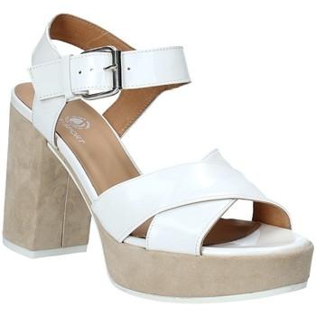 kengät Naiset Sandaalit ja avokkaat Janet Sport 43883 Valkoinen