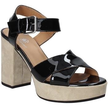 kengät Naiset Sandaalit ja avokkaat Janet Sport 43883 Musta