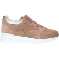 kengät Naiset Korkeavartiset tennarit Triver Flight 198-10B Vaaleanpunainen
